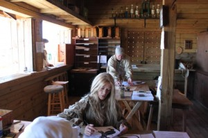 Working in the Range House