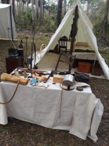 Table and Tent