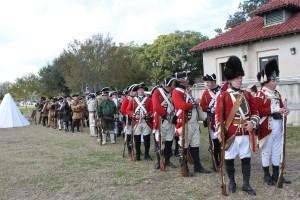 British Troops Represented